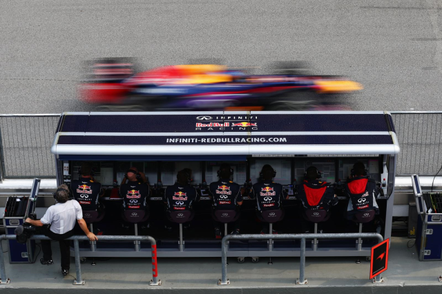 Infiniti Red Bull Racing Pit Wall
